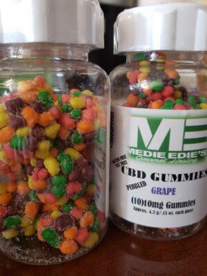 Elite Gummies - Grape Pebbled